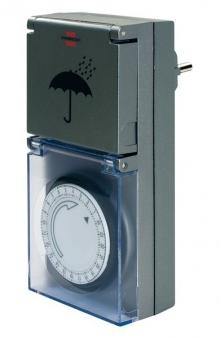 Brennenstuhl Zeitschaltuhr / Steckdosen-Schaltgerät MZ 44 mech. außen Bild 1