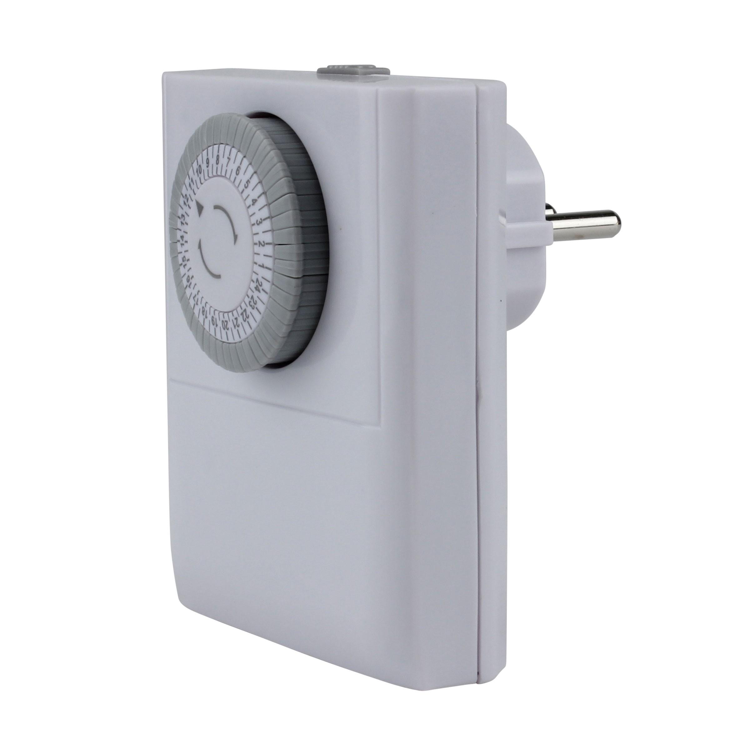 Unitec Tageszeitschaltuhr analog für Innen inkl. 2 Eurosteckdosen Bild 1