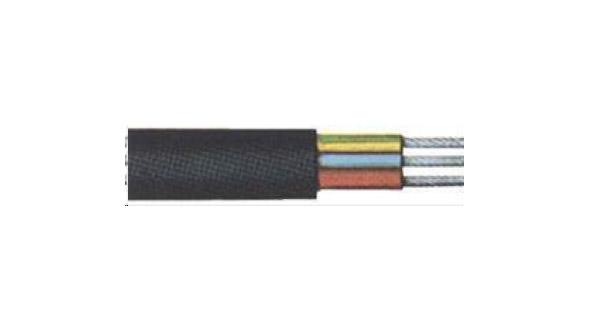 Gummischlauchleit.H05RR-F3x1,5mm2,schwarz, 50m Bild 1