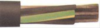 Gummischlauchleit.H07RN-F3x1,5 mm, 2,50 m Ring Bild 1