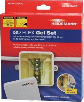 ISO FLEX Gel Set für NYY/NYM-Kabel bis 5x4 Bild 1