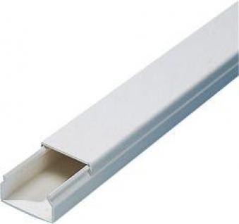 Kabelkanal 30x30 mm 2 m, weiß Bild 1