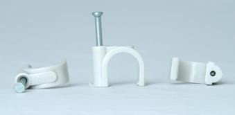Kopp Iso-Schellen 11 - 14mm grau mit Stahlnadeln 30mm 50Stück Bild 1
