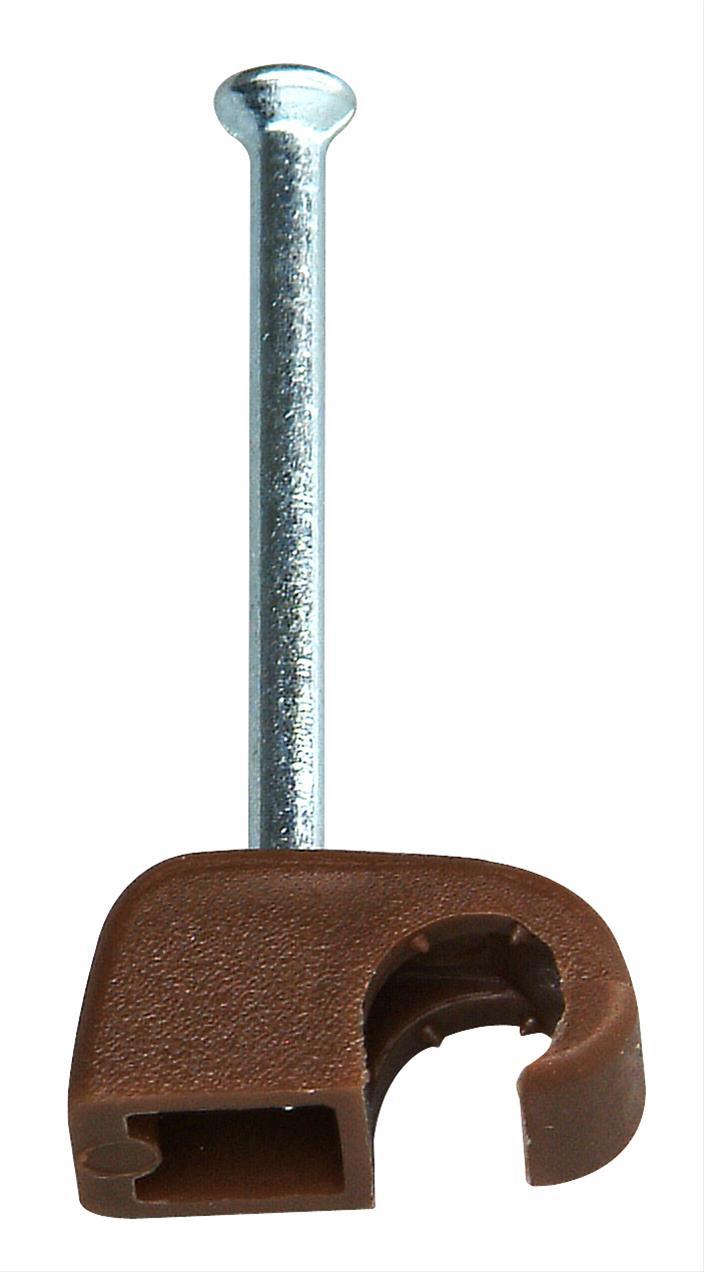 Kopp Iso-Schellen 4 - 7mm mit Stahlnadeln 50 Stück braun Bild 1