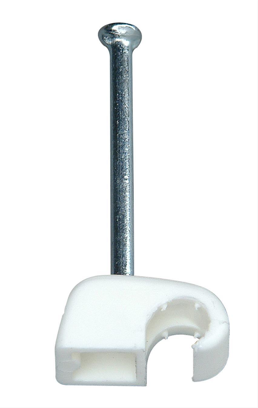 Kopp Iso-Schellen 4 - 7mm mit Stahlnadeln 50 Stück weiß Bild 1