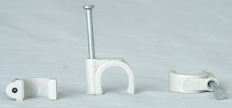 Kopp Iso-Schellen 8 - 10mm mit Stahlnadeln 30mm 50Stück Bild 1