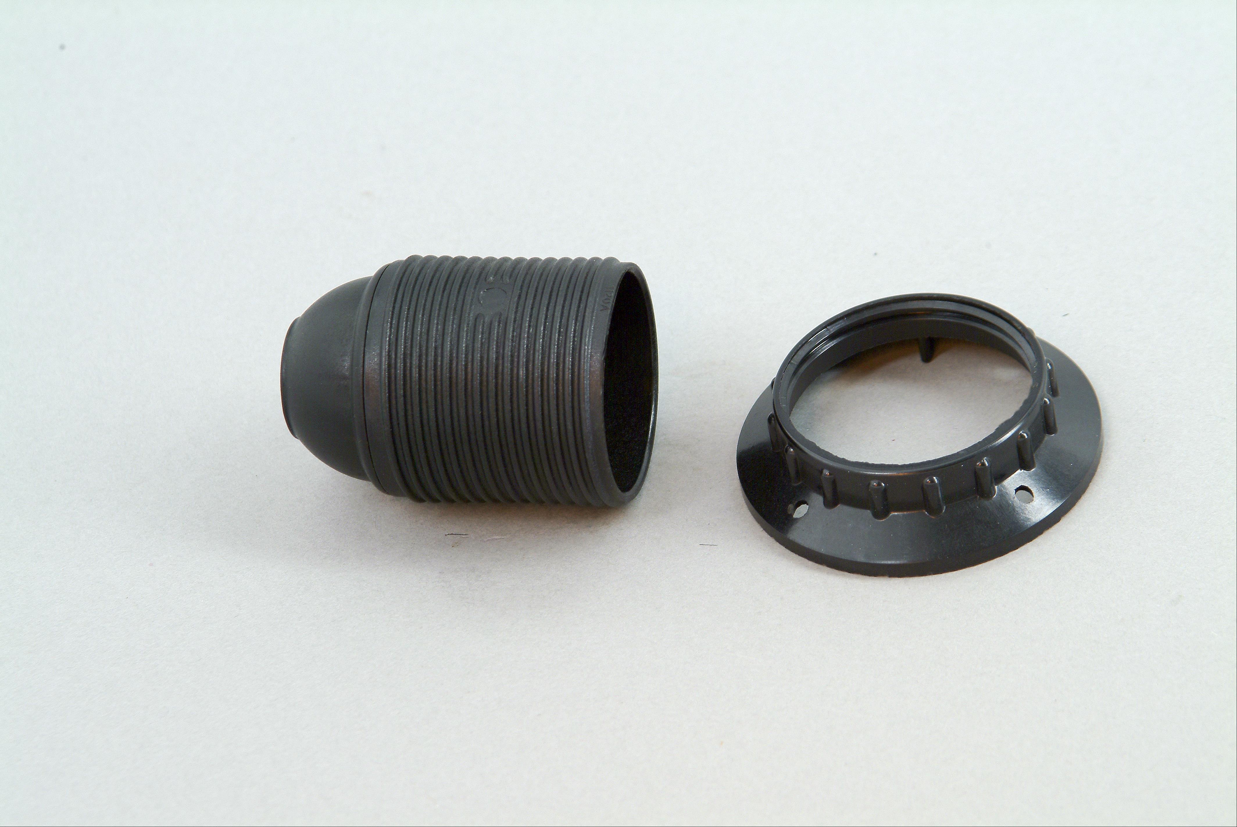 Kopp Isolierstoff - Fassung mit Außengewindemantel E27 Bild 1