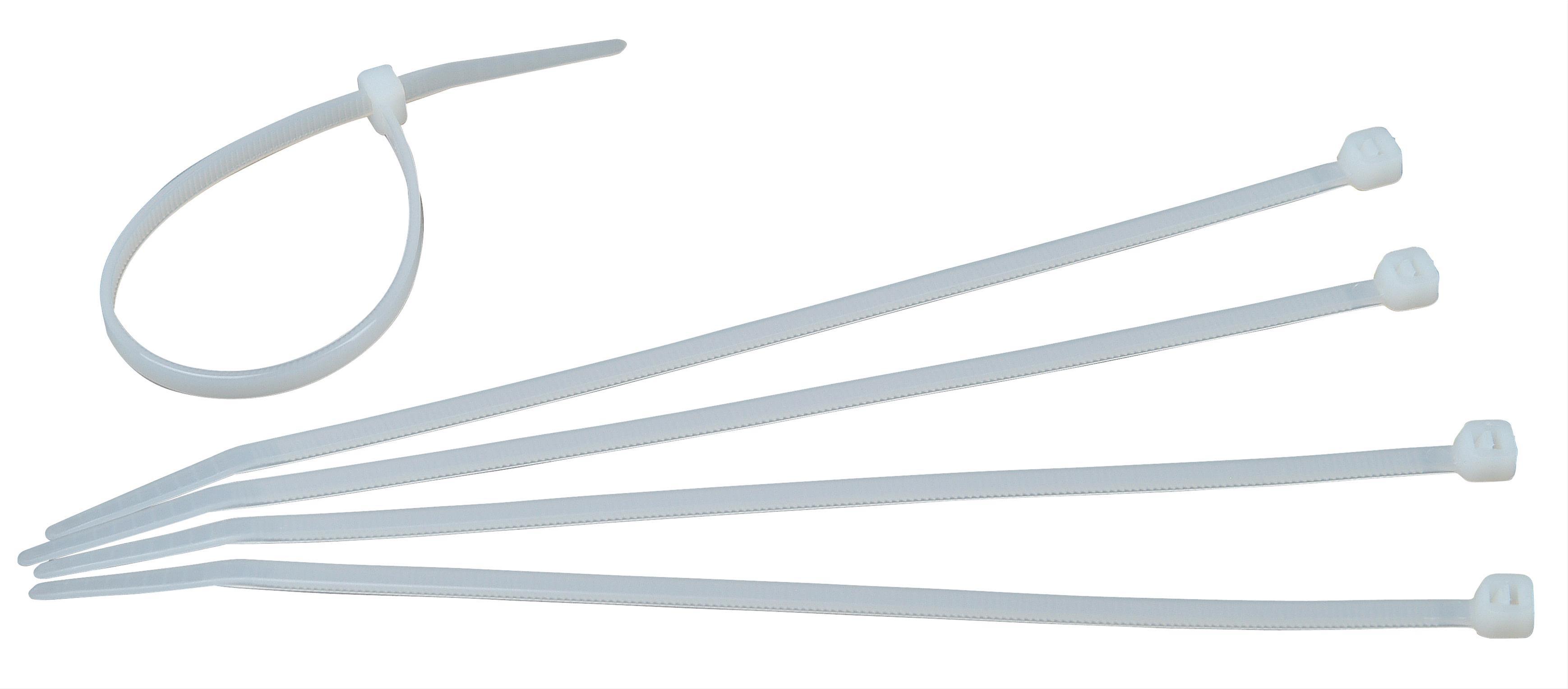 Kopp Kabelbinder transparent 200 x 4,6mm  50 Stück Bild 1