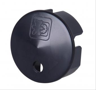 Kopp Sicherheitsabdeckung für Steckdose schwarz Bild 1