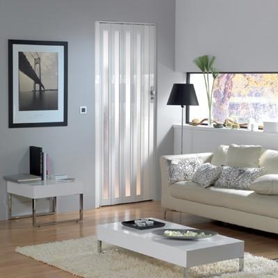 Falttür Larya von Grosfillex weiss glänzend Bild 1
