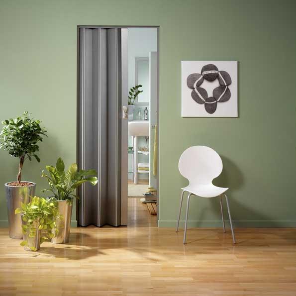 Falttür Spacy von Grosfillex Aluminium-Dekor Bild 1