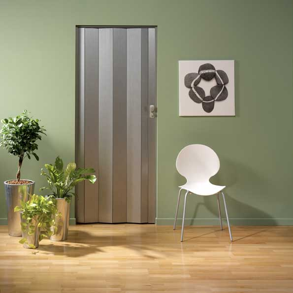 Faltt r spacy von grosfillex aluminium dekor bei - Porte accordeon aluminium ...