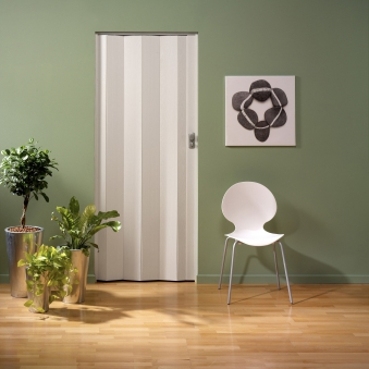 Falttür Spacy von Grosfillex Holzdekor gekalkt Bild 1
