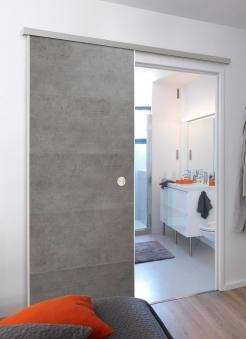 Schiebetüre Door in Box von Grosfillex beton Bild 1
