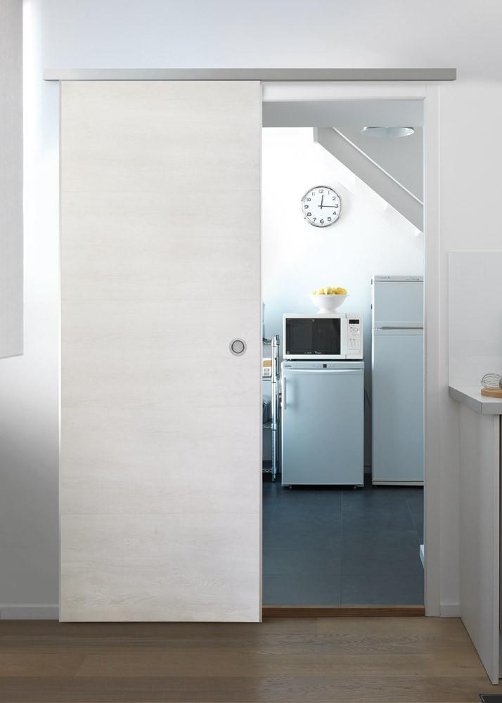 Schiebetüre Door in Box von Grosfillex weiß Bild 1