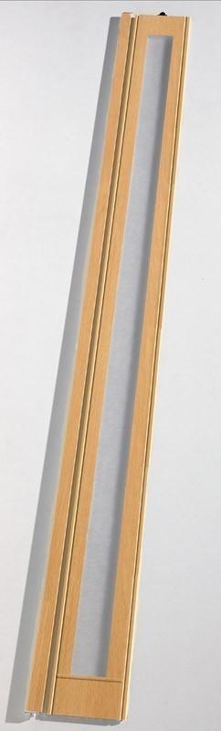 Zusatzlamelle für Grosfillex Falttür Larya Eiche hell Bild 2
