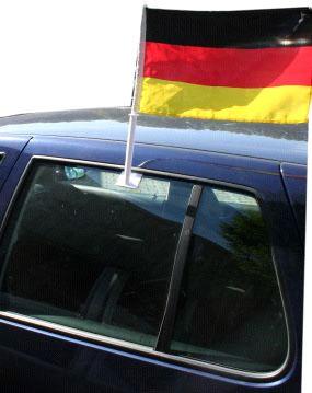 Autofahne Deutschland 45x30cm Fanartikel Bild 1