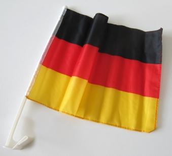 Autofahne Deutschland 45x30cm Fanartikel Bild 2