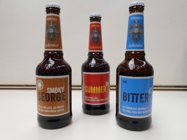 Rittmayer Craftbiere Summer 69 - Bitter - Smoky George Männergeschenke Bild 1