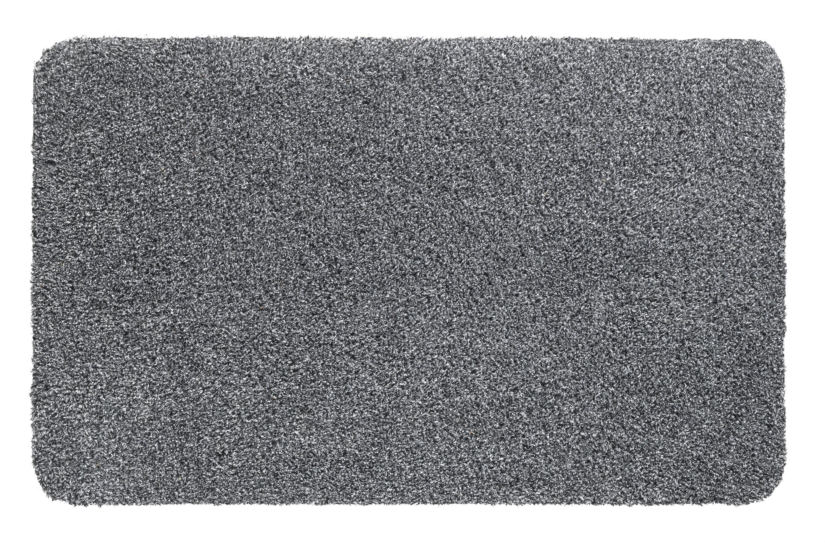 Hamat Fußmatte Aqua Stop waschbar 40x60cm grey Bild 1