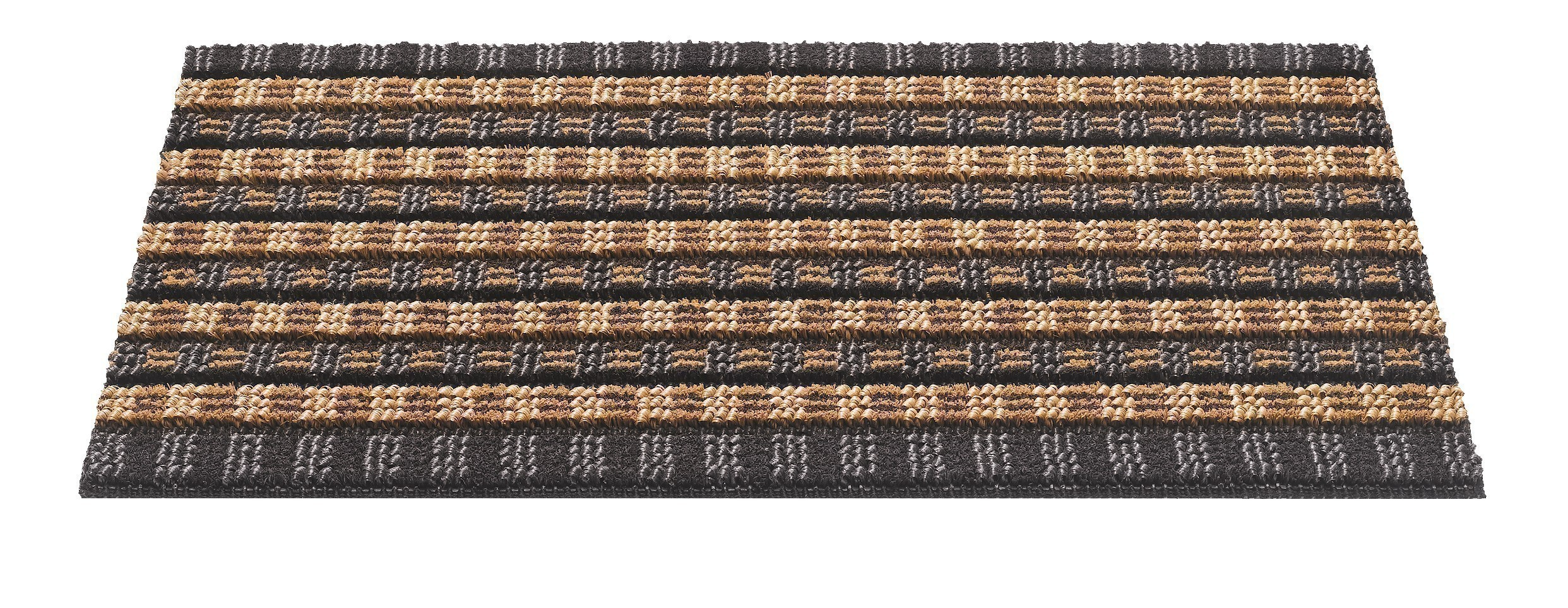Hamat Fußmatte / Außenmatte Quadro Scrape 50x80cm natural Bild 1