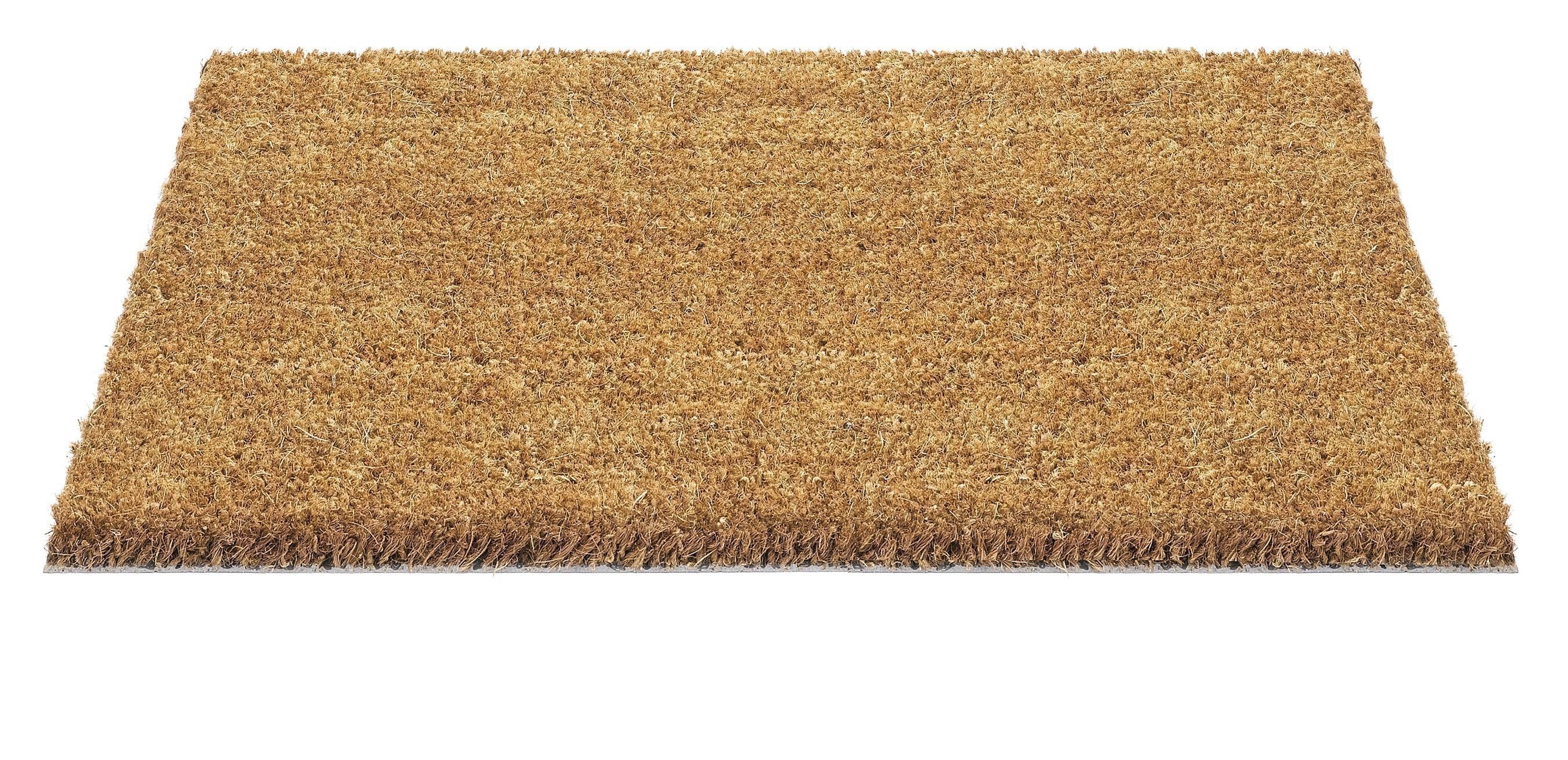 Hamat Fußmatte / Kokos Fußmatte Ruco 40x60cm natur Bild 1