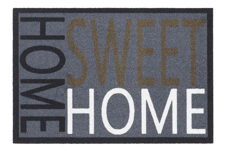 Hamat Schmutzfangmatte Mondial 40x60cm Dekor 313 Home Sweet Home Bild 1