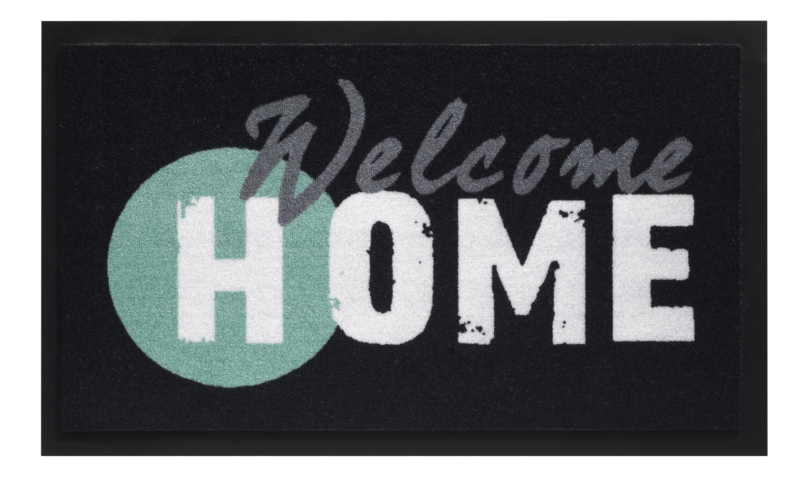 Hamat Schmutzfangmatte Mondial 45x75cm Dekor 568 Home Welcome Bild 1