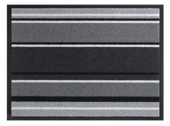 Hamat Schmutzfangmatte Streifen Smart 60x80cm anthracite Bild 1