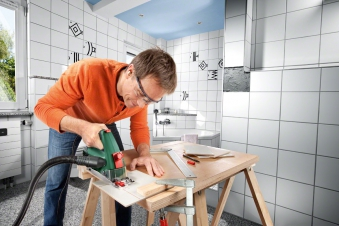Bosch Handkreissäge PKS 16 Multi  400 W Bild 3