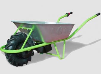 Elektro Schubkarre MOTOkarre Standard 250W 100L verzinkt Bild 3