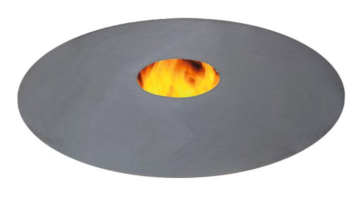 Feuerplatte Plancha Grillplatte für Feuerstellen und Fässer 800 Bild 1