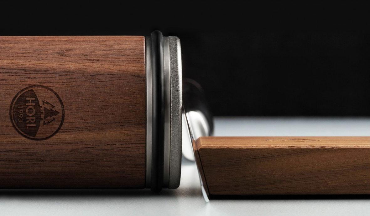 HORL Messerschärfer / Rollschleifer und Magnetschleiflehre  Nussbaum Bild 3