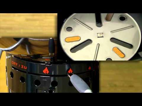 Holzkohlegrill / Kugelgrill Rösle No.1 Sport F50 Ø50cm Video Screenshot 470