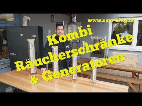 Kaltrauchgenerator Smo-King Big-Old-Smo 2,3 Liter mit Pumpe 230V Video Screenshot 2901