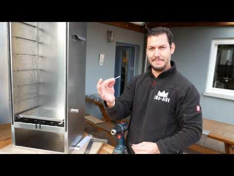 Kaltrauchgenerator Smo-King Grill-Smo 0,65 Liter mit Batteriepumpe Video Screenshot 2912