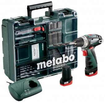 Metabo Akku Bohrschrauber PowerMaxx BS Basic 10,8V / 2Ah Set Aktion Bild 1