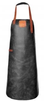 Witloft Grillschürze / Lederschürze Black/Cognac Größe XL Bild 1
