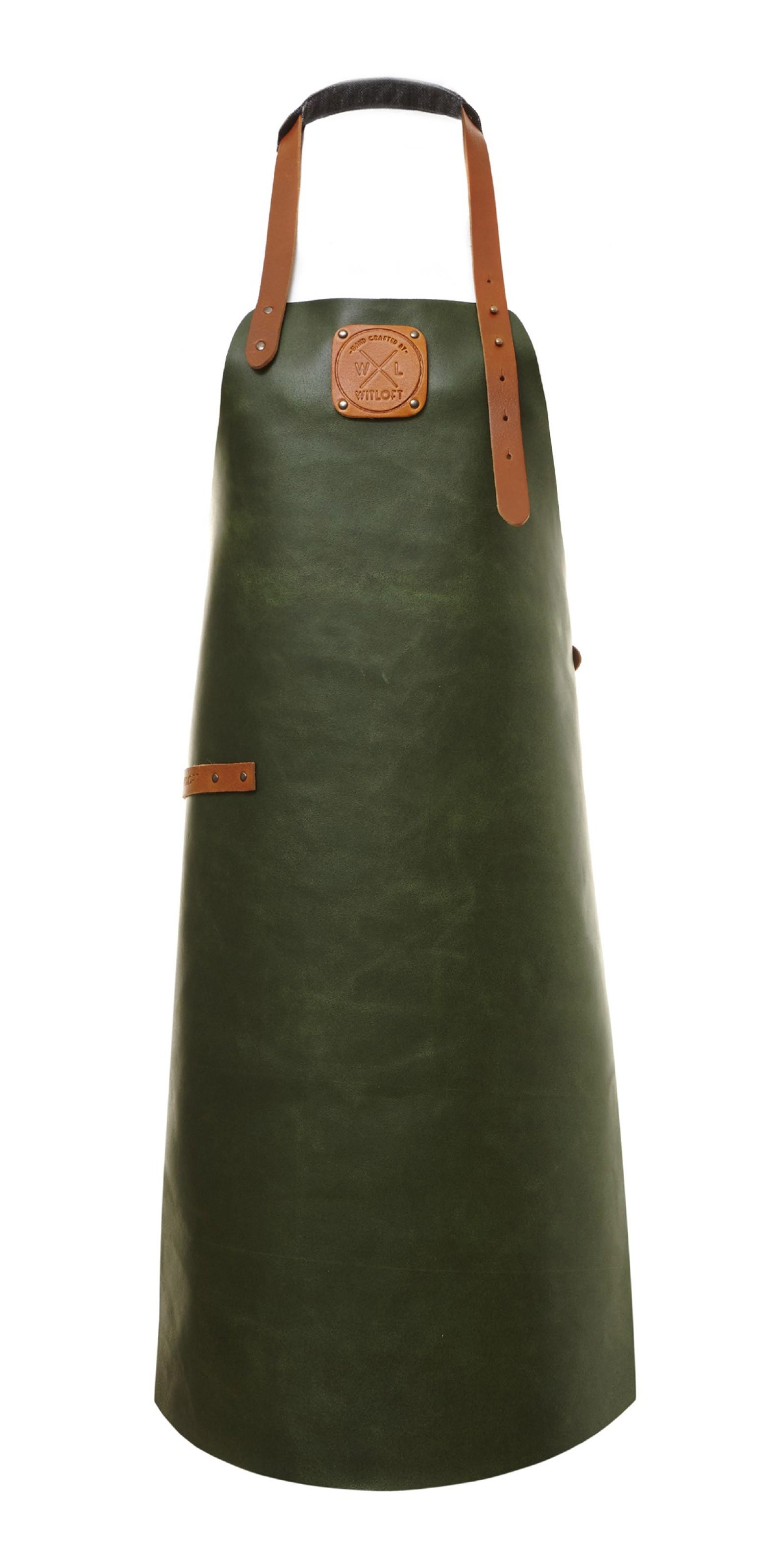 Witloft Grillschürze / Lederschürze Green/Cognac Größe L Bild 1