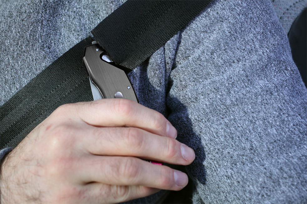 kwb Tools Rettungsmesser Fire Dept Klappklinge Länge 90mm Bild 3