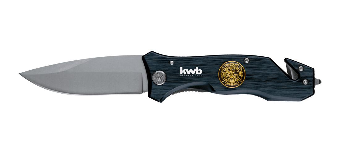 kwb Tools Rettungsmesser Fire Dept Klappklinge Länge 90mm Bild 4