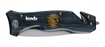 kwb Tools Rettungsmesser Fire Dept Klappklinge Länge 90mm Bild 1