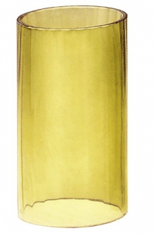 Ersatzglas gelb 14,4 cm