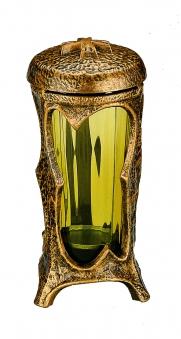 Grablampe / Deckellampe 21830 rund mit Glaseinsatz 22cm Bild 1