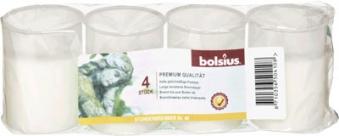 Bolsius Grablicht / Dauerbrenner Nr. 40 weiß ohne Deckel 4 Stück Bild 1