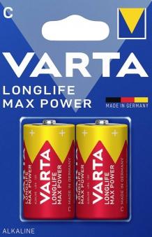 VARTA Max Tech C 1,5 V LR14 2 Stück