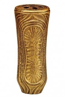 Grabvase Daniel bronzefarbig 26 cm Bild 1