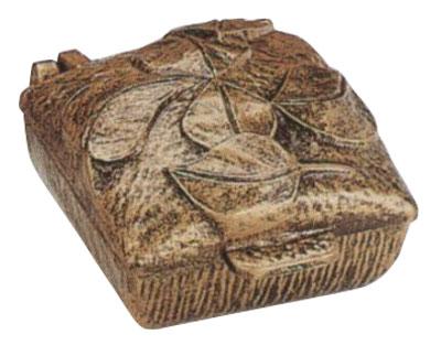 Weihwasserbecken bronzefarbig 10 x 12 x 7 cm Bild 1
