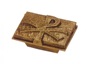 Weihwasserbecken bronzefarbig 13x9cm # 21020 Bild 1