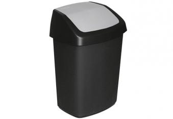 Abfallbehälter mit Schwingdeckel 10 Liter Bild 1